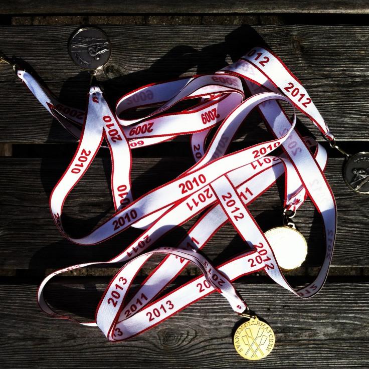 medals 2013