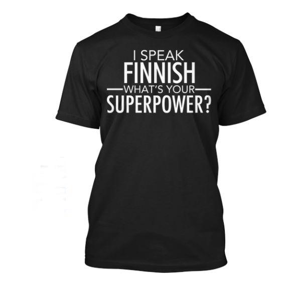 I speak finnish