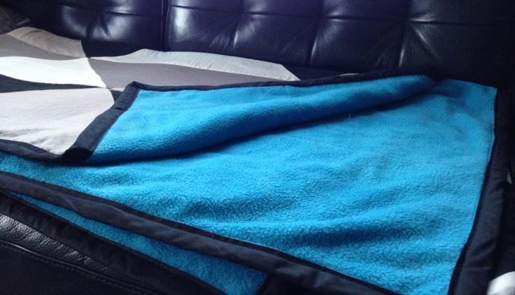 Graphic-patchwork-blanket