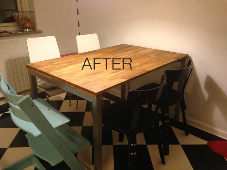 table after